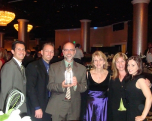 "The City of Santa Clarita received ""Most Business Friendly City"" award for over 50,000 population at LAEDC Eddy awards."