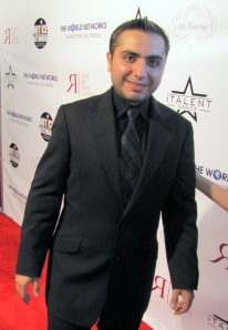 Gor Gevorkyan on the red carpet at Royal Gor Studios