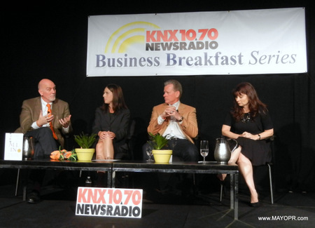 image of panel knx business breakfast series
